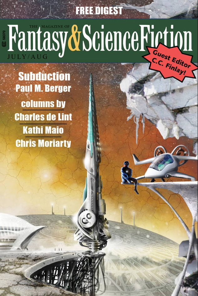 Subduction Cover F&SF Digest